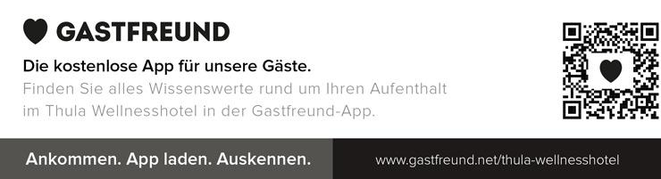 Gastfreund App mit allen Infos zum Hotel und der Region Bayerischer Wald